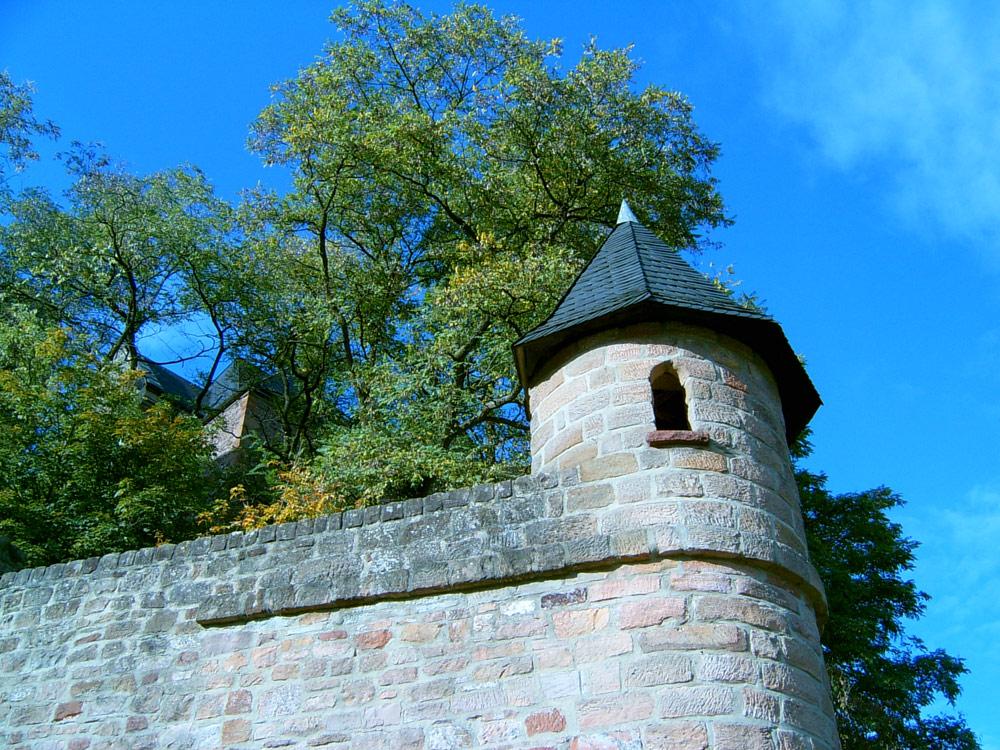 Kautentürmchen, der einstigen Erhebungsstätte für den Wasserzoll.