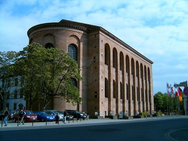 Die Basilika in Trier war die Palastaula von Kaiser Konstantin